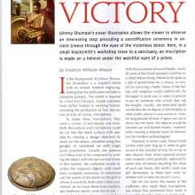 "Artikel ""Immortalizing Victory"""